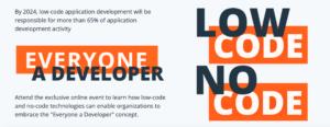 Low Code No Code design
