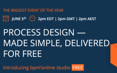 Bpm'online studio will now be FREE as of June 5th
