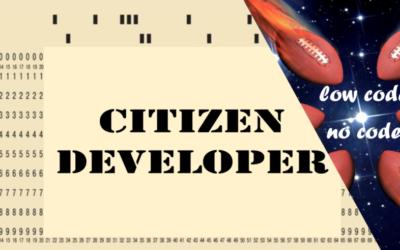 Citizen Developer?