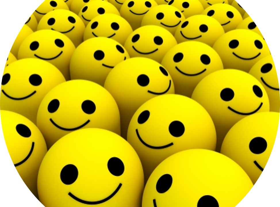 Picture of smiley faces