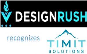 DesignRush recognizes TIMIT Solutions